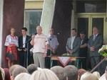 Радзієвський і Метик на лінійці 1 вересня