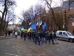 Акція у Дрогобичі для депутатів на майдані