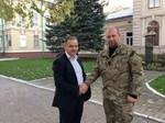 Ігор Курус отримав підтримку від батальйону Айдар