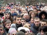 Студенти Дрогобича пікетували РДА