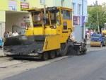 Ремонт вулиць у Дрогобичі