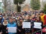 Студенти пікетували РДА і Гориславського