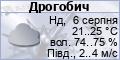 Погода в Дрогобичі